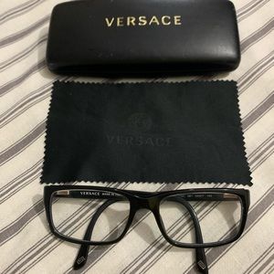 Versace Rectangular Eyeglasses